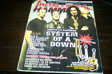 METAL HAMMER MAGAZINE 1/2006 SYSTEM OF A DOWN RUSH CAVE IN THE HUNTED