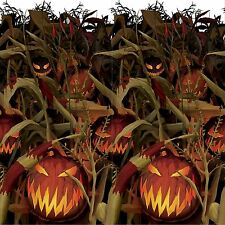 40ft Corn Fields Halloween Evil Pumpkin Room Roll Scene Setter Party Backdrop
