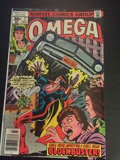 Omega#7 Awesome Condition 8.0 Mooney Art(1977)