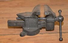 """Rare A. M. & F. Co Athol Mass vise model 023 1/2 collectible 3 1/2"""" jaws tool"""