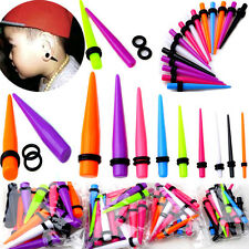 18pc cheap Ear Plug Taper Kit Gauges Expander Stretcher Stretching Piercing