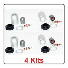 4 Kits TPMS Sensor Service Kit Fits: Chrysler Dodge Mercedes-Benz Smart