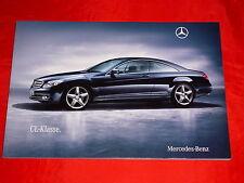 MERCEDES C216 CL-Klasse CL 500 CL 600 CL 63 AMG CL 65 AMG Prospekt von 12/2009
