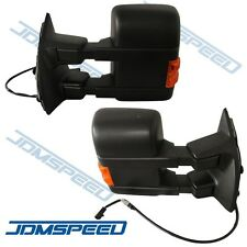 Towing Mirrors Power Heated With Turn Signal For 03-07 Ford SD Side Mirror PAIR
