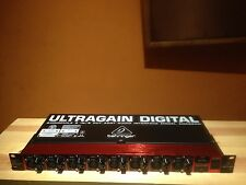 Behringer ULTRAGAIN DIGITAL ADA8200 8 In/8 Out ADAT Audio Interface