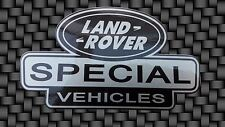 QTY 2 x   SPECIAL VEHICLES DECAL STICKER LAND ROVER DEFENDER DISCOVERY 90 110
