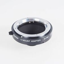 = Vivitar Minolta M MD to C Mount Lens Adapter with Box