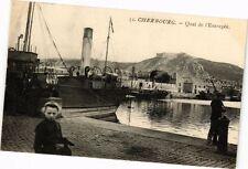 CPA  Cherbourg -Quai de l'Entrepot (245937)