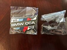 Official Bmw CCA Car Club of America Grill Badge Emblem Limited Edition Tribute