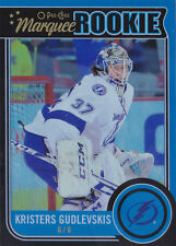 14-15 OPC Kristers Gudlevskis /100 Rookie Rainbow Black O-Pee-Chee 2014