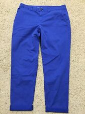 KHAKIS by GAP size 12T 12 Tall BROKEN-IN STRAIGHT PANTS ACTIVE BLUE  C7