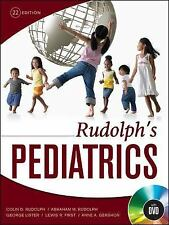 Rudolph's Pediatrics, 22nd Edition, , .,, Gershon, Anne, First, Lewis, Lister, G