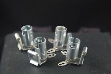 Four NOS HH Smith Model 1924 Twist Lock Bulb Sockets