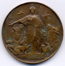 JETMED 111 - MEDAILLE DE TABLE - SOCIETE PROTECTRICE DES ANIMAUX A PARIS - 1927