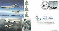40th Anniversary of the VC10 Signed The Rt Hon Baroness Thatcher .Prime Minister