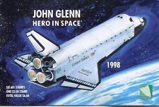 MARSHALL ISLANDS 1998 JOHN GLENN SPACE STAMPS - COMPLETE BOOKLET - $13.50 VALUE!