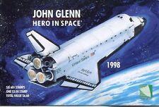 MARSHALL ISLANDS 1998 JOHN GLENN SPACE SET -  COMPLETE BOOKLET - $13.50 VALUE!
