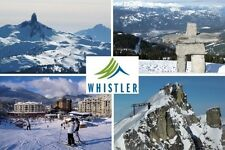 SOUVENIR FRIDGE MAGNET of WHISTLER CANADA SKIING