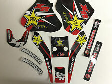 NEW Team Rockstar Honda Graphics XR250 XR400 1996-2006 graphic kit