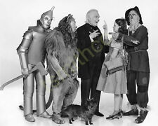 Bert Lahr in The Wizard of Oz as Cowardly Lion with Judy Garland 8x10 Photo 004