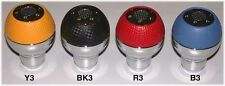 Auto Shift KNOB Knobs  RED AUTOMATIC GEAR KNOB AUTOMATIC ALUMINUM LEATHER