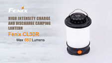 New Fenix CL30R 650 lumens LED Camping Lantern Light USB Power Bank (NO battery)