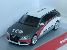 """Herpa audi a4 avant """"señal publicitarias/mate look"""" - 027601-Limited Edition"""