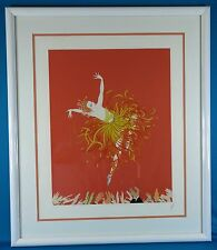 "ERTE Signed ""Applause 1983"" Original Serigraph Numbered and Framed"