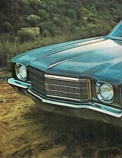 Chevrolet Monte Carlo 1970 USA Market Leaflet Sales Brochure SS