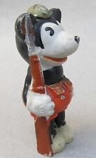 MICKEY MOUSE DOUGHBOY SOLDIER 1930's Japanese bisque figure SCARCE Disney