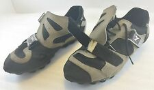 Diadora Womens 40EU 8.5US Bike Cycling Shoes Strap Black Brown