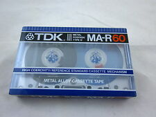 RARE TDK MA-R 60 Reference Metal Tape C-60 1982 Japanese Market Neu New Sealed