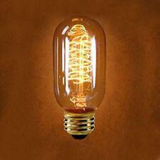 Edison Tungsten E27 Incandescent Light Bulb 40W/220V Reproduction T45