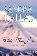 Whiter than Snow by Sandra Dallas (2010, MP3CD) exlibrary