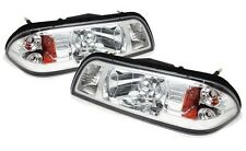 New 1987-93 Ford Mustang One Piece Headlight Kit Chrome 5.0 GT LX Fox Body