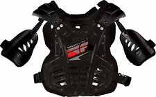 Motocross ATV SnowX Kids 40-80Lbs Roost Guard Chest Protector Black Fly Racing