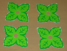 COLECO  STRAWBERRY SHORTCAKE  BERRY BUGGY  LEAF SHAPED PAPER WHEEL COVERS  VTG