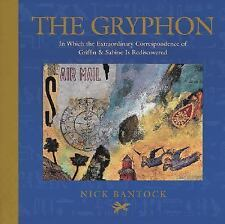 SIGNED:  NICK BANTOCK  - The Gryphon - (HARDCOVER) NEW