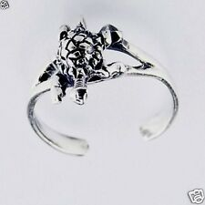Adjustable Turtle Toe Ring Sterling Silver 925 Best Price Plain Jewelry Gift