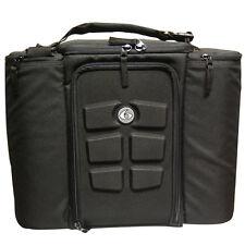 6 Pack Fitness Innovator 500 Meal Management Bag - Black