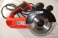Double feuille sauge DPS 125 Pommeau Scie circulaire opposé à tournant Lames de