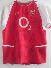 Arsenal 2008-2009 HOME Squad Signed Football Shirt with COA /40978