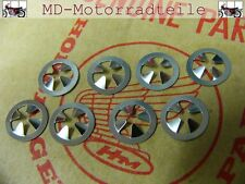 HONDA CB 750 Four k0 k1 k2 EMBLEM Clip Set per pagine COPERCHIO Nut, Speed Set
