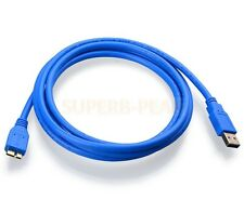 New 1.5m USB 3.0 Cable A To Micro B For TOSHIBA Canvio Ready External Hard Drive