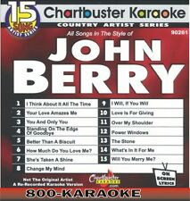 Chartbuster Karaoke Artist Series CD+G #9261 John Berry 15 Song karoke Barry cdg