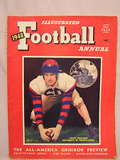 1948 Illustrated Football Annual Magazine-72 pages, 100s photos- (M-1854)