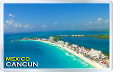 CANCUN MEXICO FRIDGE MAGNET SOUVENIR IMAN NEVERA