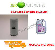PETROL OIL FILTER + FS 5W30 ENGINE OIL FOR FORD MONDEO 1.6 95 BHP 1998-00