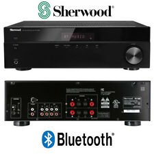 Sherwood RX-4508 200W AM FM Stereo Receiver w/ Bluetooth Home Theater 2 Channel