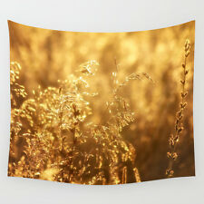 Wall Tapestry - Art Photo 51x60 / Fields of Gold / Large Wall Art Wall Hanging